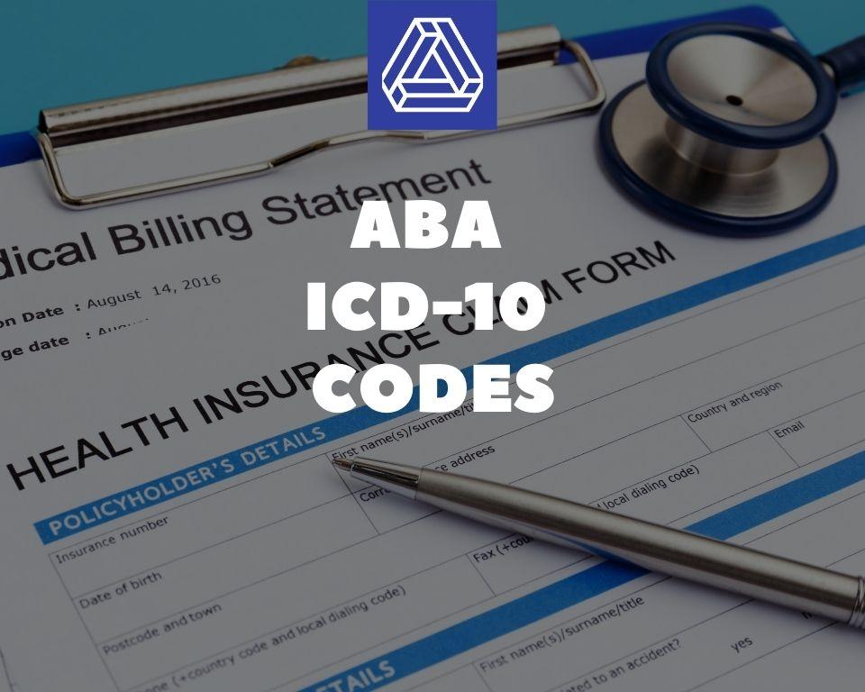 ABA ICD-10 Codes